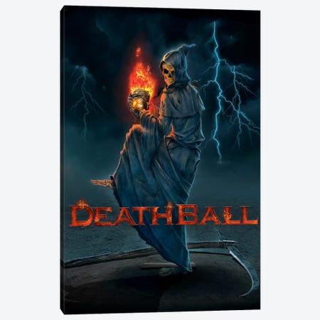 Death Ball Canvas Print #HIE15} by Vincent Hie Canvas Art Print