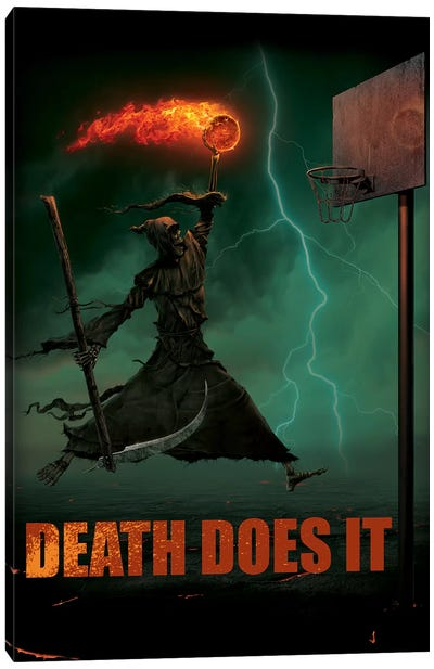 Death Does It Canvas Art Print