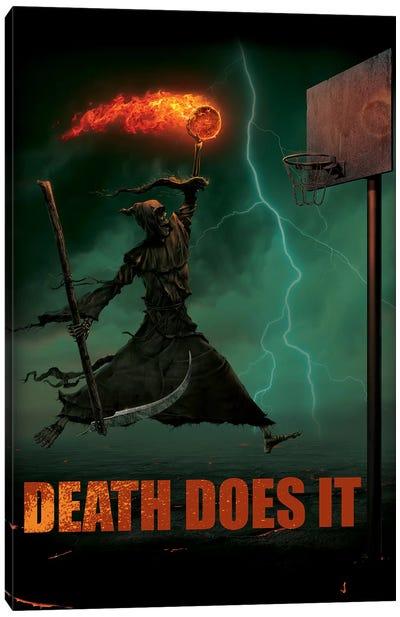 Death Does It Canvas Art Print