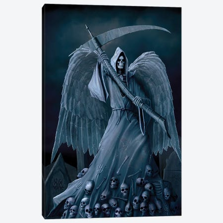 Death On A Hold Canvas Print #HIE17} by Vincent Hie Art Print