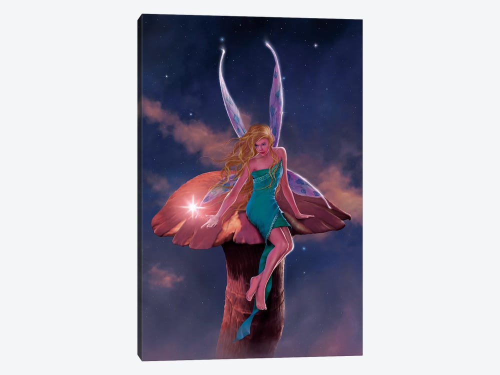 A Fairy's Wish by Vincent Hie 1-piece Canvas Art
