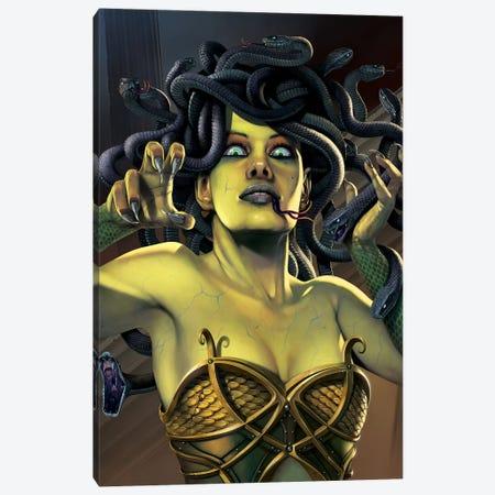 Medusa Canvas Print #HIE29} by Vincent Hie Canvas Print