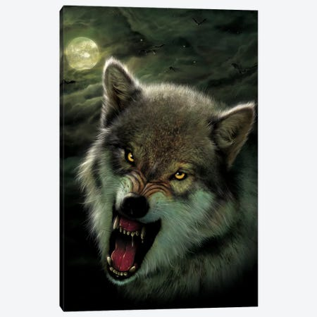 Nightbreed Canvas Print #HIE34} by Vincent Hie Canvas Print
