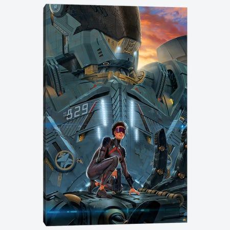 Searchlight Canvas Print #HIE41} by Vincent Hie Art Print