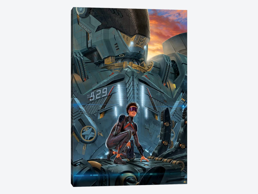 Searchlight by Vincent Hie 1-piece Canvas Wall Art