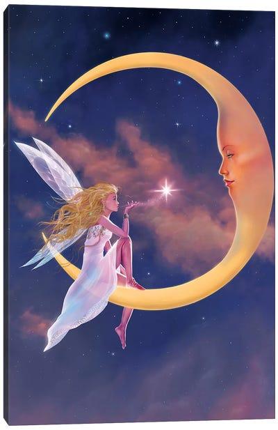 Star Kiss Canvas Art Print