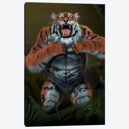 Tigerilla Canvas Print #HIE50} by Vincent Hie Canvas Art