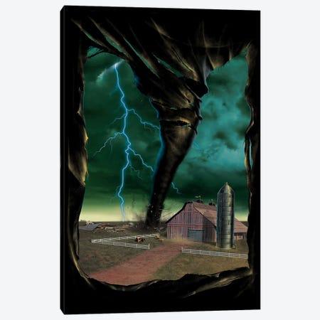 Tornado Breakthrough Canvas Print #HIE53} by Vincent Hie Canvas Art