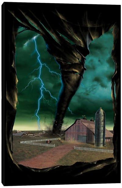 Tornado Breakthrough Canvas Art Print