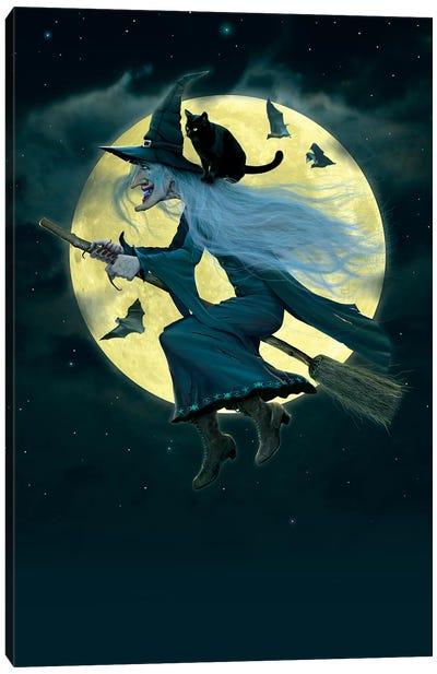 Witch Canvas Art Print