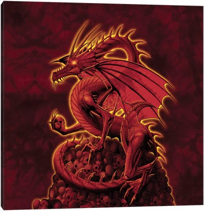 Abolisher Red Version Canvas Art Print