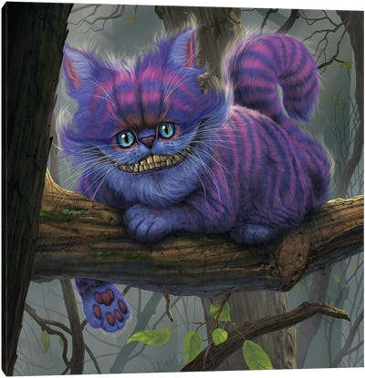 Cheshire Cat Canvas Art Print