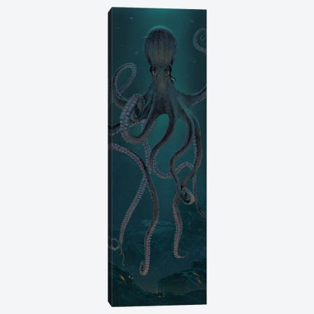 Giant Octopus Canvas Print #HIE76} by Vincent Hie Canvas Art Print
