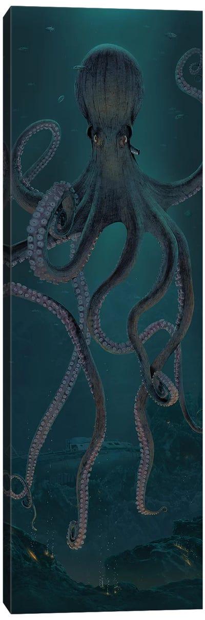 Giant Octopus Canvas Art Print