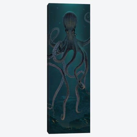 Giant Octopus 3-Piece Canvas #HIE76} by Vincent Hie Canvas Art Print