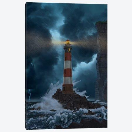 Unbreakable Canvas Print #HIE88} by Vincent Hie Art Print