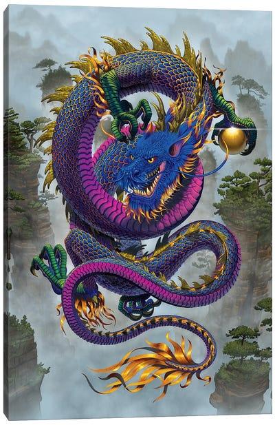 Good Fortune Dragon  Canvas Art Print