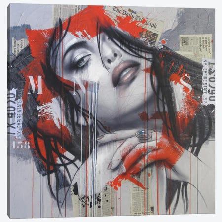 Morning Sound Canvas Print #HJB10} by Hans Jochem Bakker Canvas Art Print