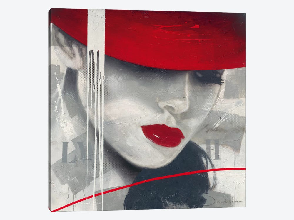 Glamorous I by Hans Jochem Bakker 1-piece Canvas Art Print
