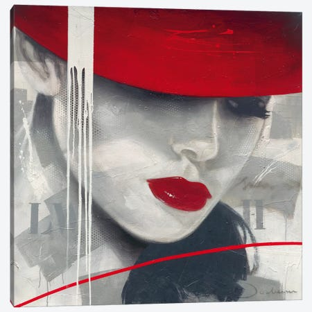 Glamorous I Canvas Print #HJB3} by Hans Jochem Bakker Canvas Artwork