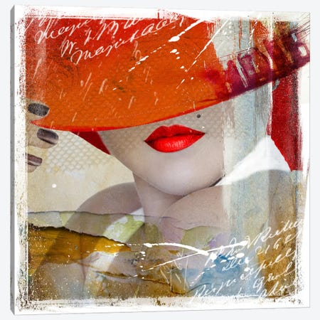 Glamorous V Canvas Print #HJB6} by Hans Jochem Bakker Canvas Art Print