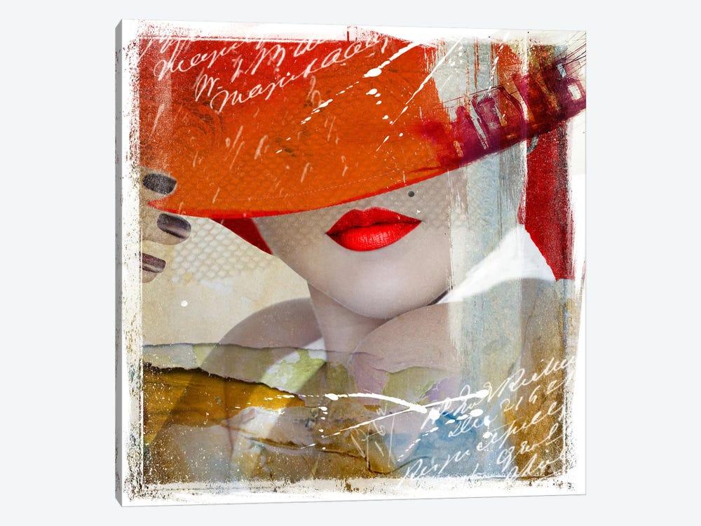 Glamorous V by Hans Jochem Bakker 1-piece Canvas Artwork