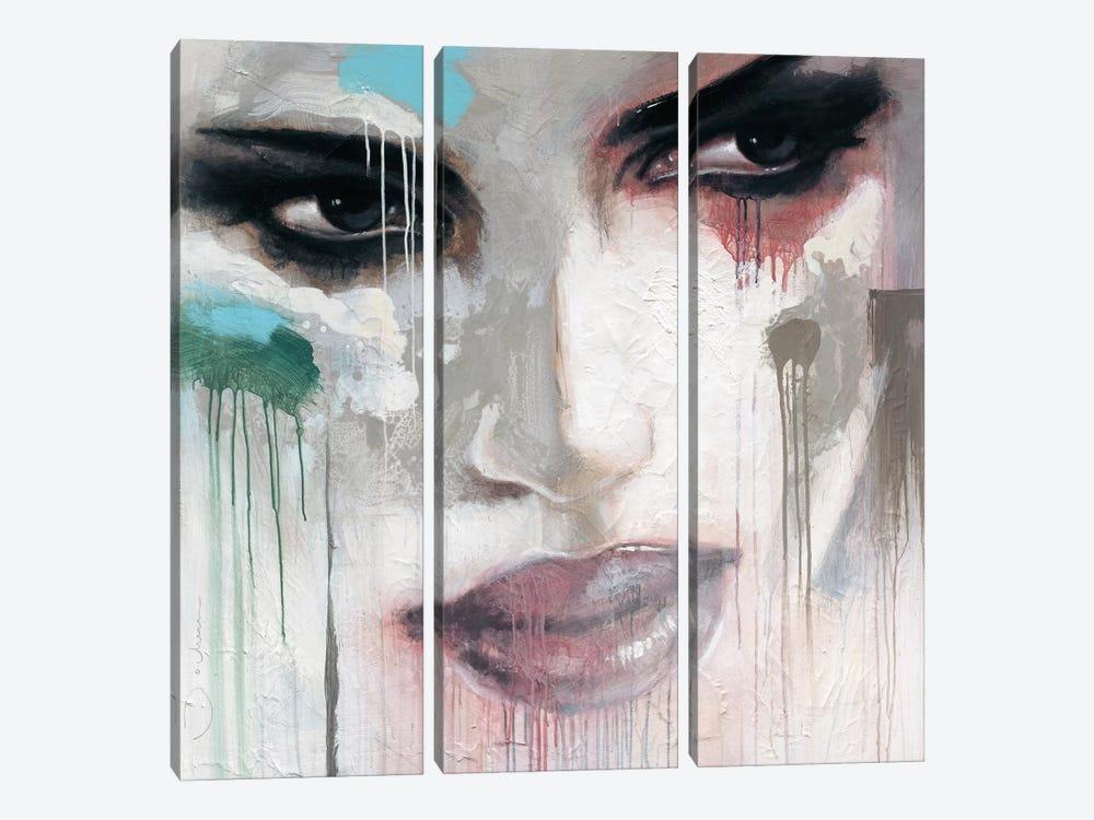 Stay Who You Are by Hans Jochem Bakker 3-piece Canvas Artwork