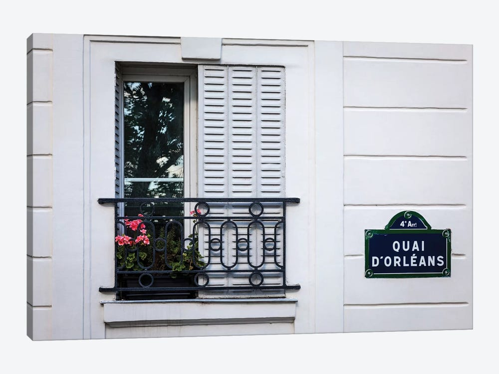 Quai d'Orleans by H.J. Herrera 1-piece Canvas Artwork