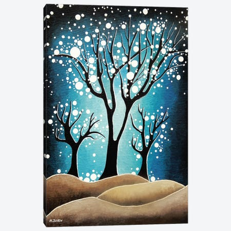 Forest Of Dreams Canvas Print #HJM14} by Helen Janow Miqueo Art Print