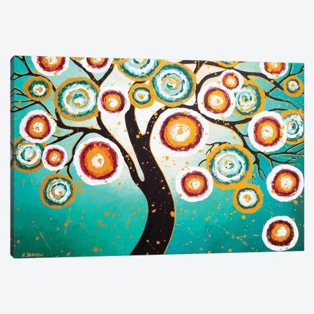 Golden Dream 3-Piece Canvas #HJM17} by Helen Janow Miqueo Art Print