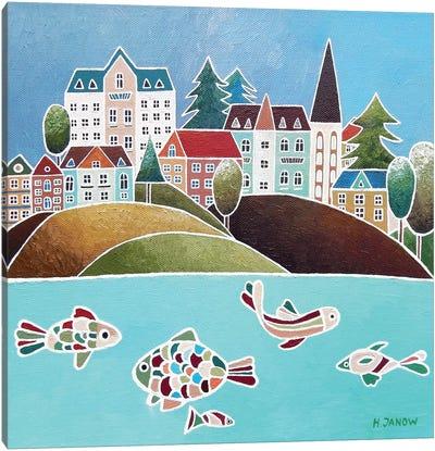 Harbor Of Dreams Canvas Art Print