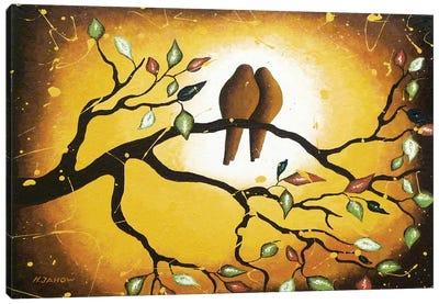In Love Canvas Art Print