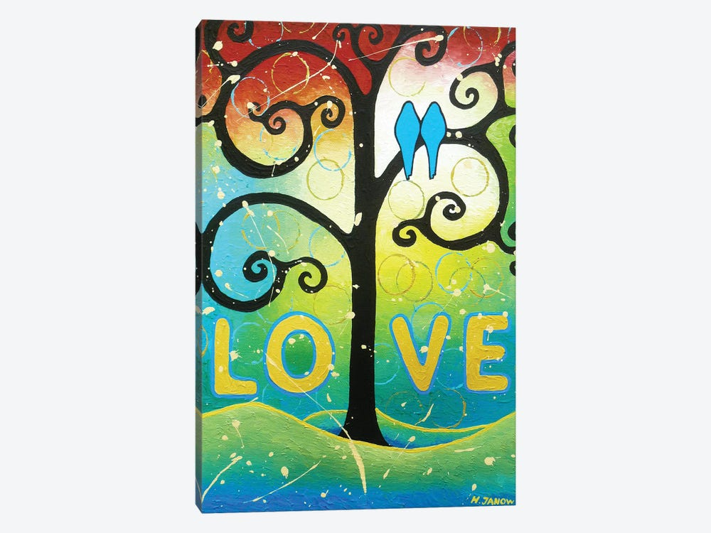 Love by Helen Janow Miqueo 1-piece Canvas Wall Art