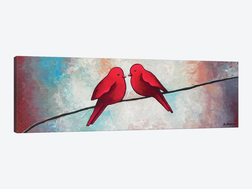 Love At First Sight by Helen Janow Miqueo 1-piece Art Print