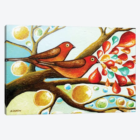 Love Song II Canvas Print #HJM28} by Helen Janow Miqueo Art Print