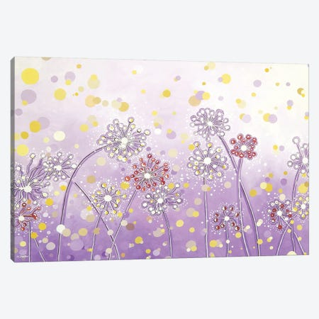 Make A Wish Canvas Print #HJM32} by Helen Janow Miqueo Canvas Wall Art