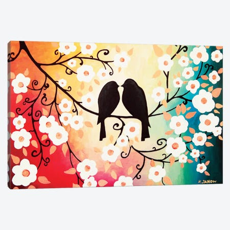 Romantic Love Canvas Print #HJM37} by Helen Janow Miqueo Canvas Print