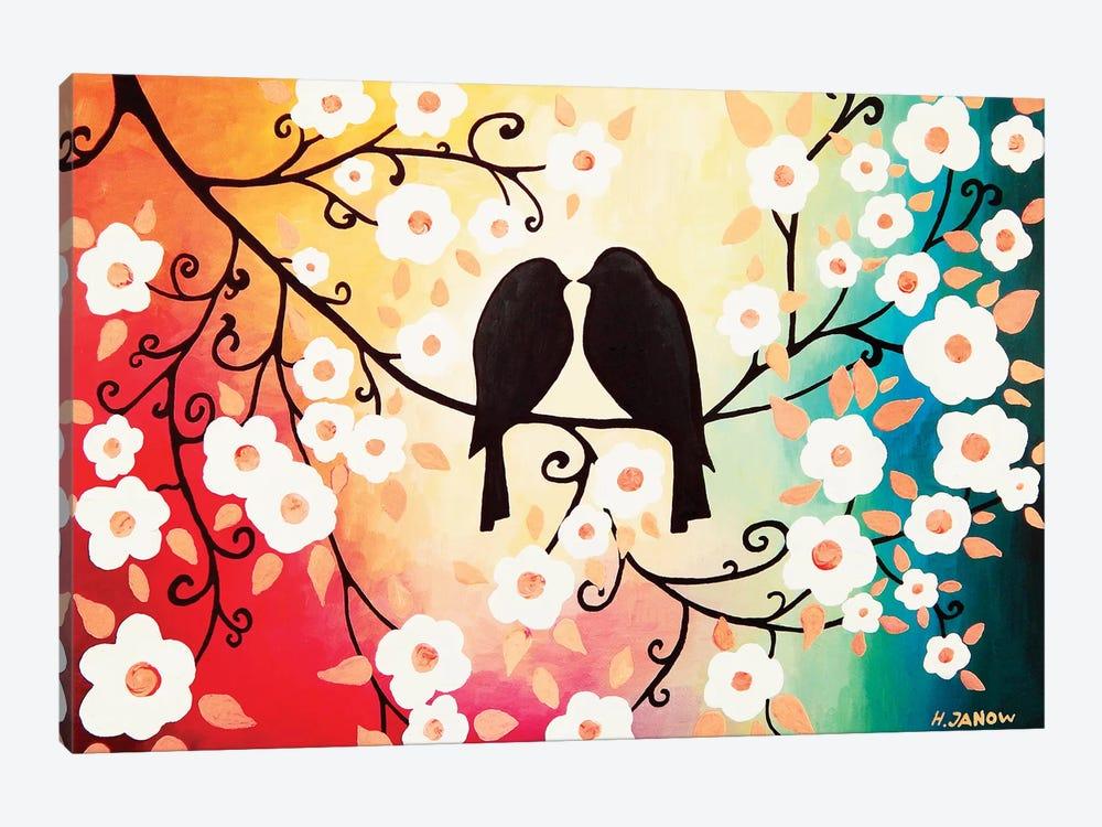 Romantic Love by Helen Janow Miqueo 1-piece Canvas Wall Art