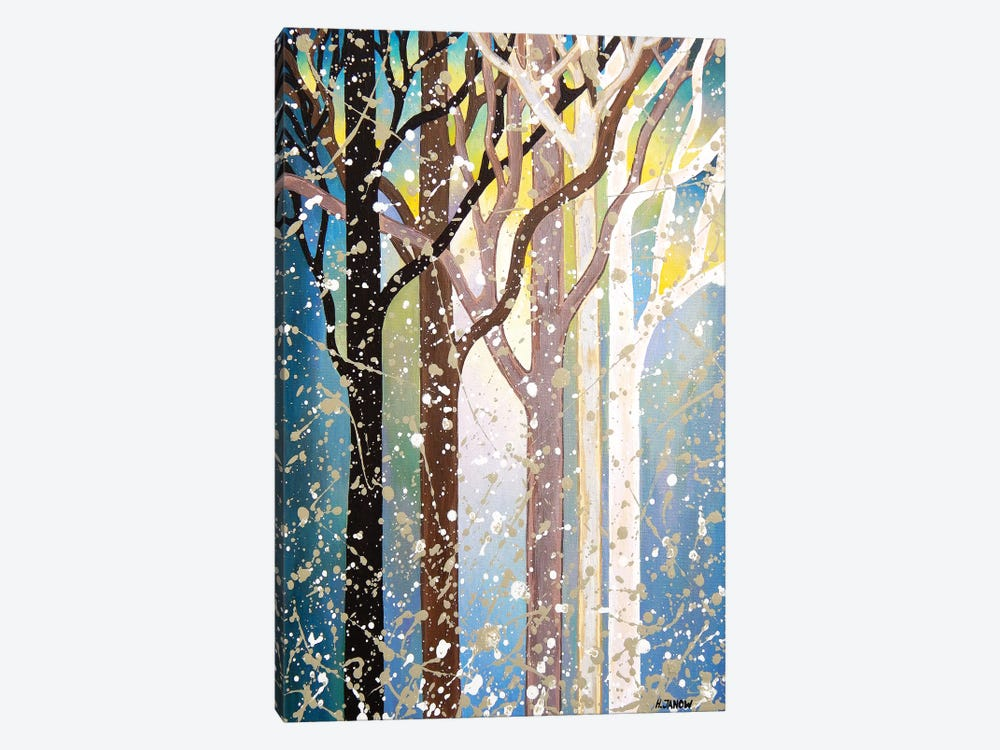 Serenity Forest by Helen Janow Miqueo 1-piece Canvas Art Print