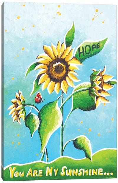 Sun Flowers Canvas Art Print