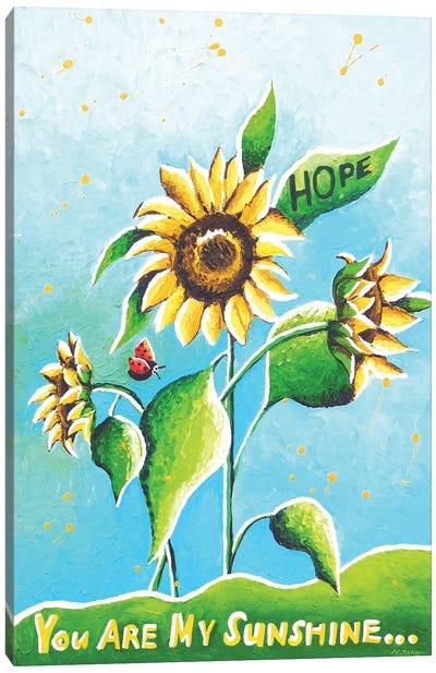 Sun Flowers Canvas Art Print