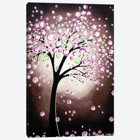 Tree Of Dreams I 3-Piece Canvas #HJM44} by Helen Janow Miqueo Canvas Art