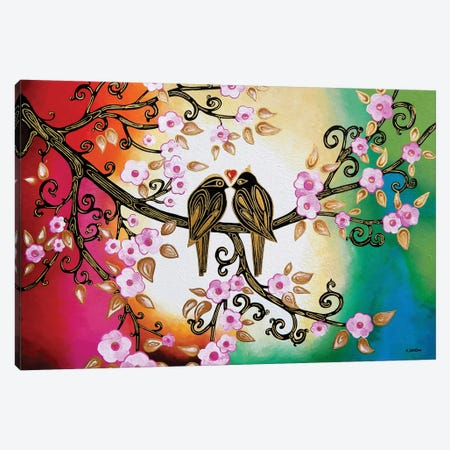 True Love Canvas Print #HJM45} by Helen Janow Miqueo Canvas Art