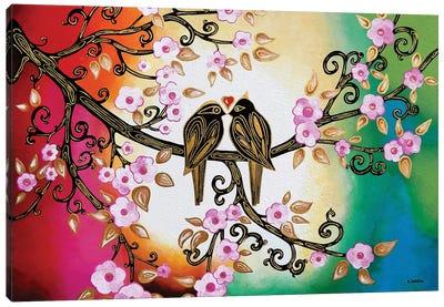 True Love Canvas Art Print