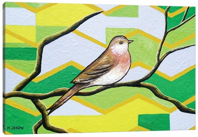 Twitter I Canvas Art Print