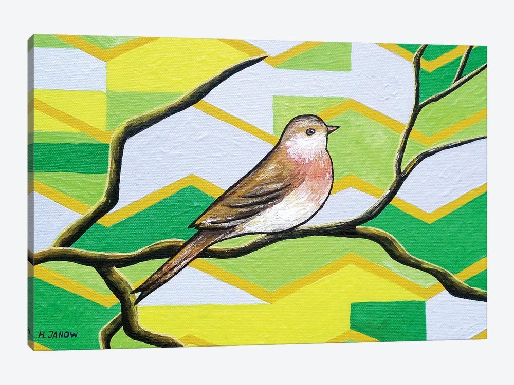Twitter I by Helen Janow Miqueo 1-piece Canvas Wall Art