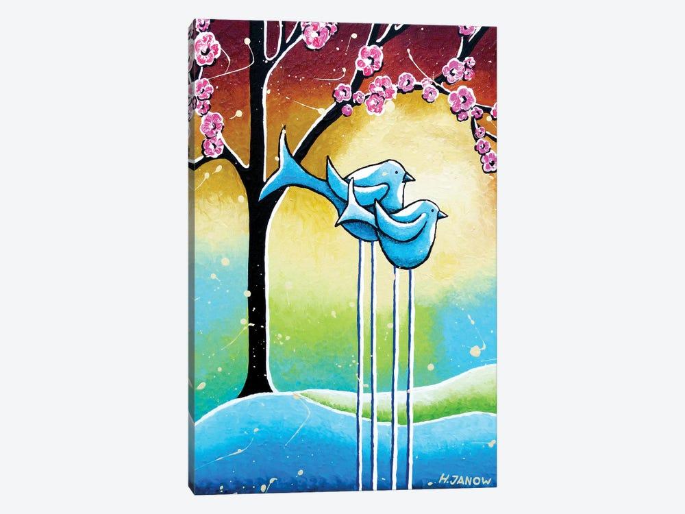 Unconditional Love by Helen Janow Miqueo 1-piece Canvas Art Print