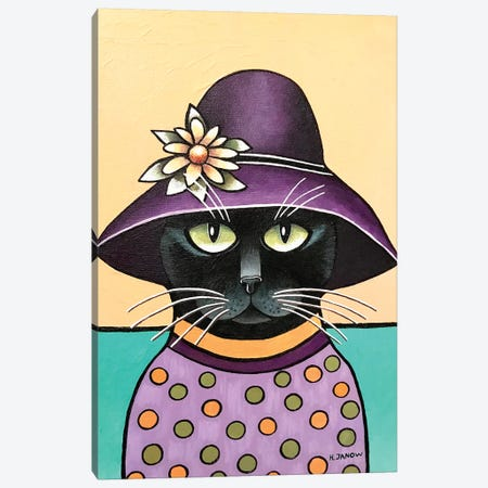 Incognito Canvas Print #HJM49} by Helen Janow Miqueo Canvas Print