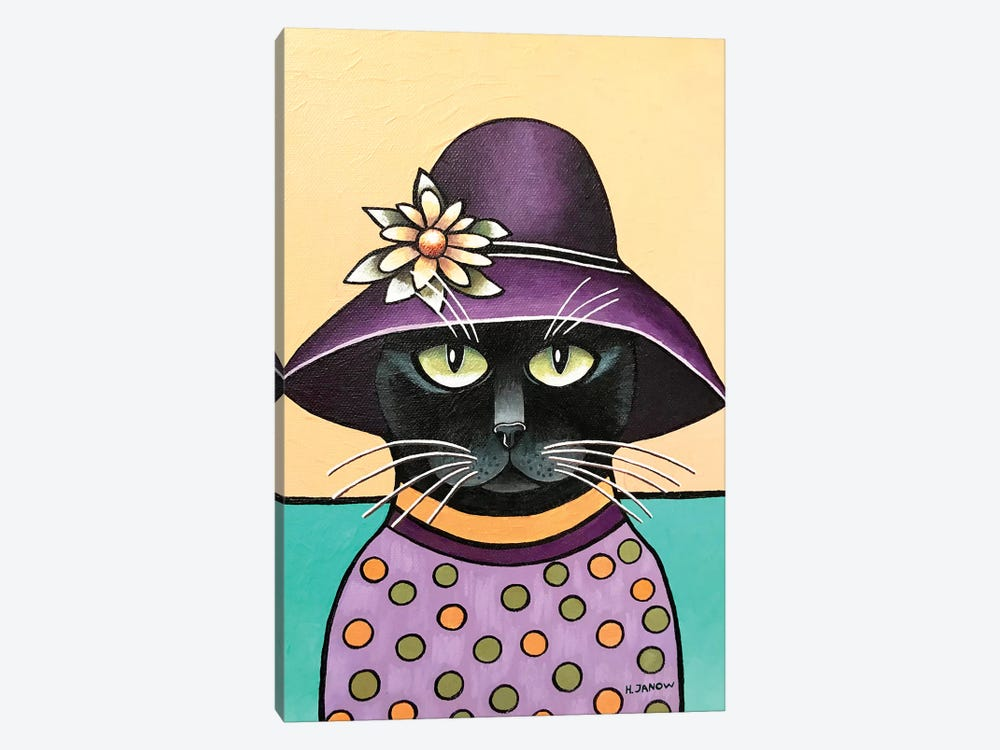 Incognito by Helen Janow Miqueo 1-piece Canvas Print