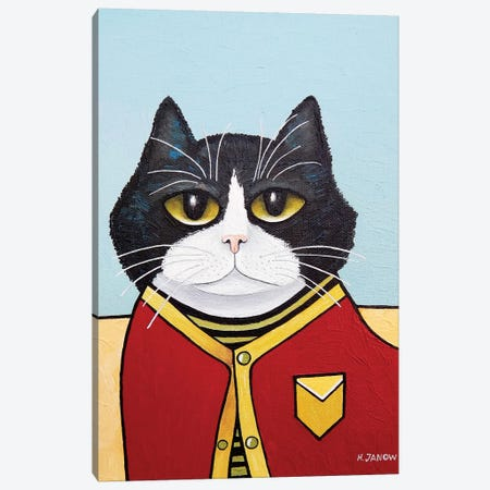 Maximus Canvas Print #HJM51} by Helen Janow Miqueo Canvas Art
